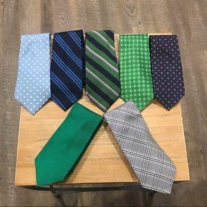 Set of 7 Ralph Lauren Ties - great collection!